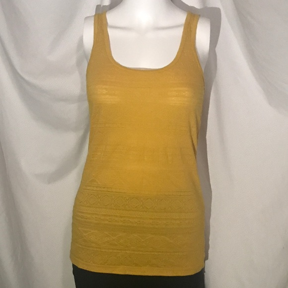 8d9d878bb1008 Mossimo Supply Co. Tops - 🌻Mossimo Knit Mustard Yellow Tank Top NWOT